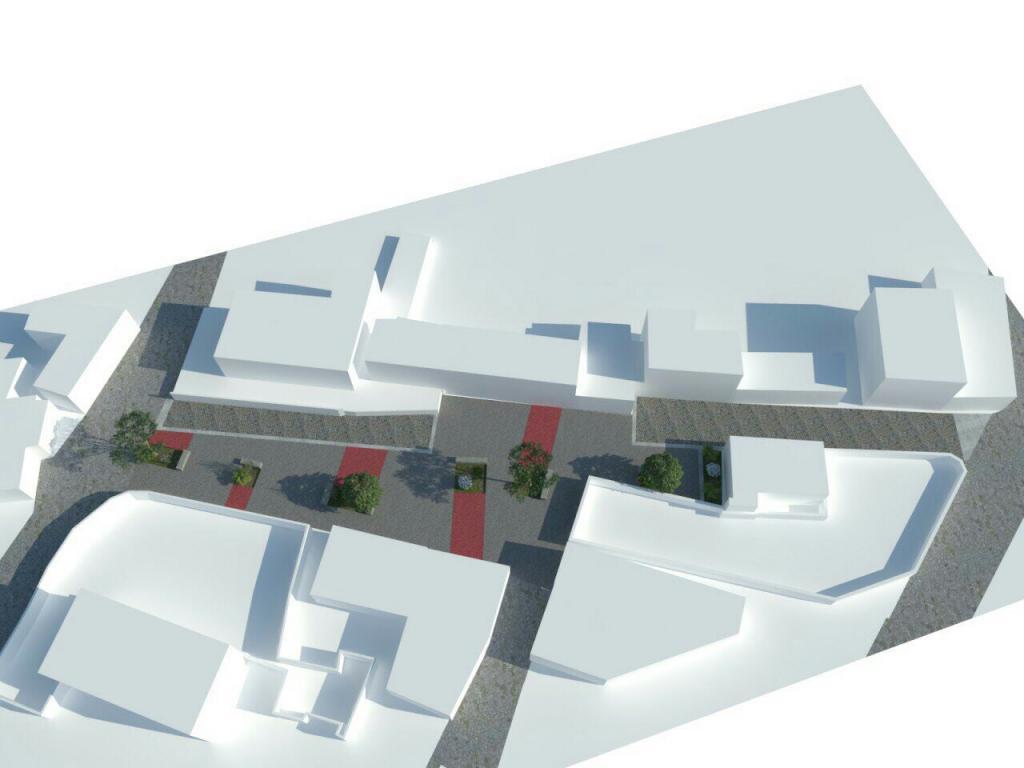 Lançamento 1ª Pedra Rua Pedonal