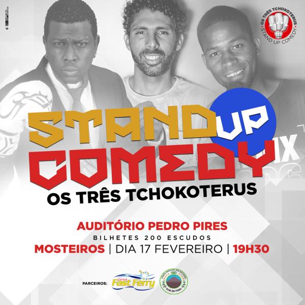 Humor: Auditório Municipal acolhe show de Stand Up Comedy