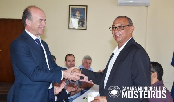 Cooperação: Vereação recebe delegação de Ansião