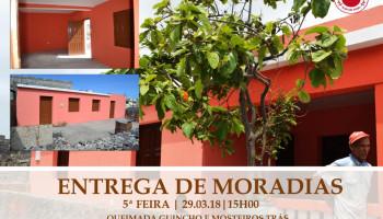 Entrega de Moradias em Queimada Guincho e Mosteiros Trás