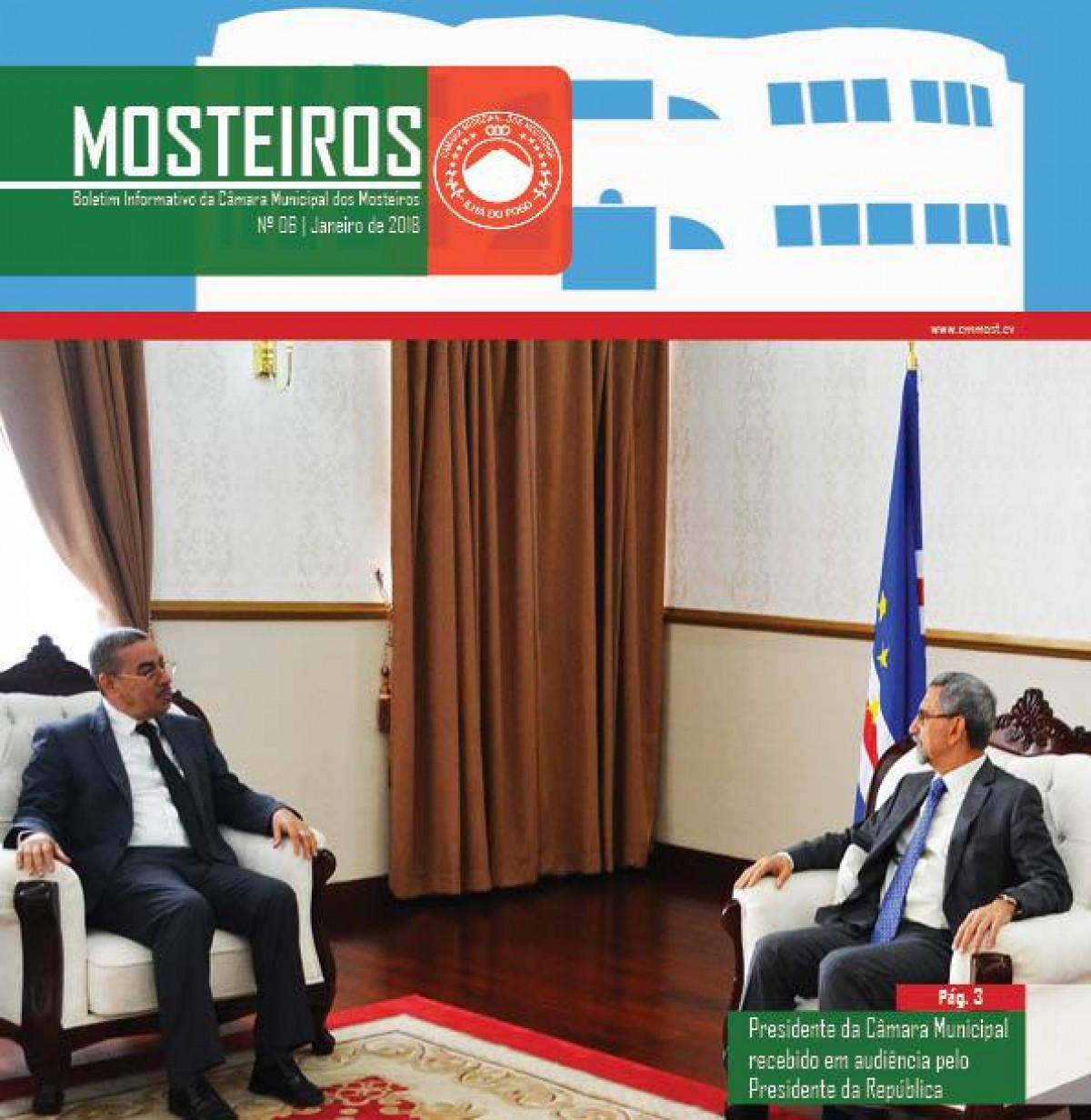 Institucional: 1º mês do ano em revista no Boletim Informativo da Câmara Municipal dos Mosteiros