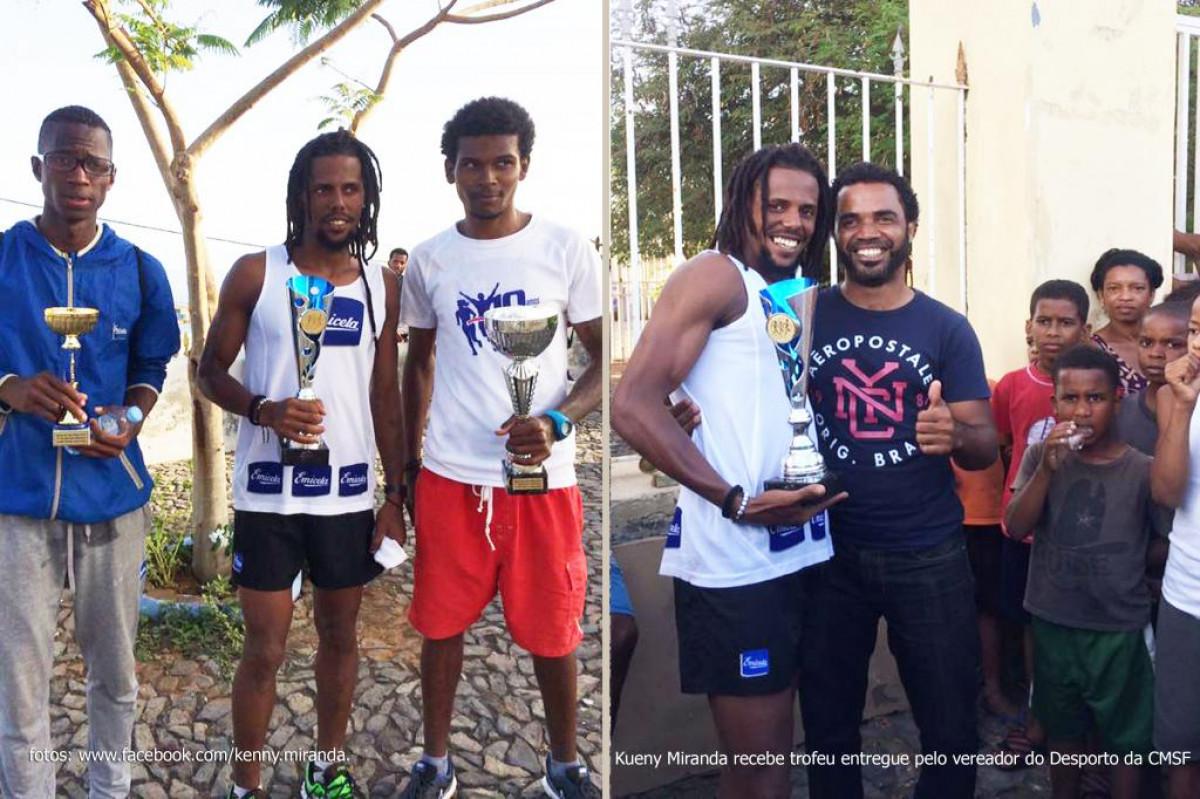 Desporto: Kueny Miranda vence Corrida do Município de São Filipe