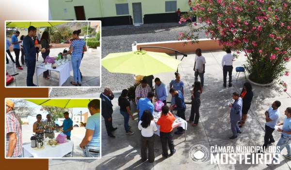 Efeméride: Dia Mundial do Café assinalado em Mosteiros com simbólico Café da Manhã