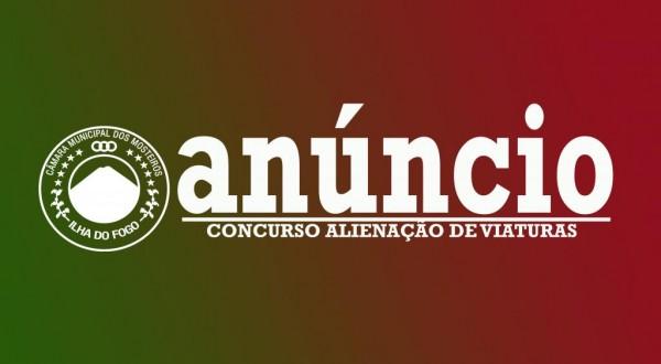 Anúncio: Concurso para Alienação de Viaturas da CMM