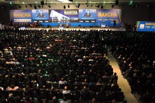 PDL: Mosteiros integra delegação caboverdeana que participa em Brasília na 21ª Marcha em Defesa dos Municípios