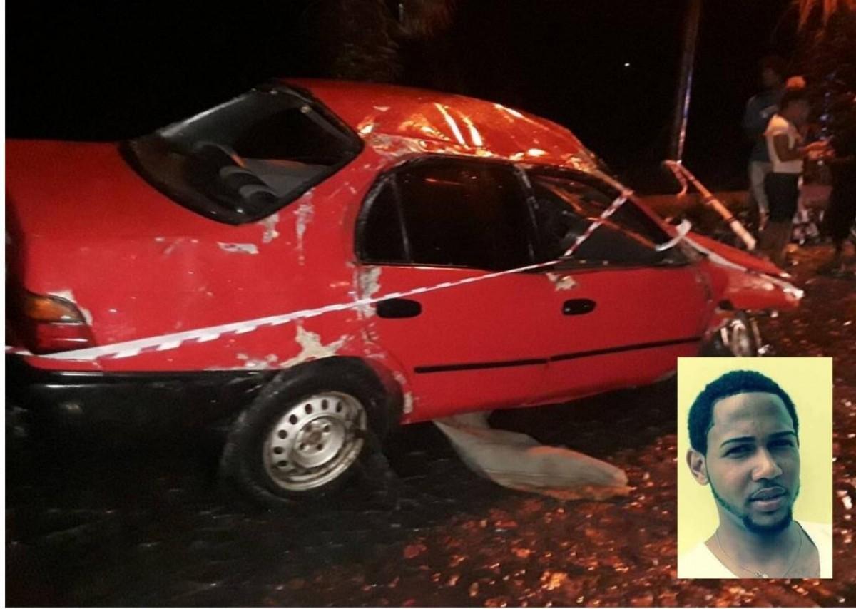 Luto: Jovem de 23 anos perde vida em acidente de viação