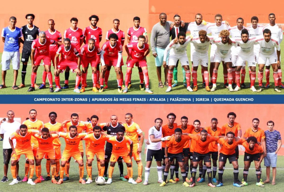 Campeonato Inter-zonas: Atalaia, Fajãzinha, Igreja e Queimada Guincho nas meias-finais