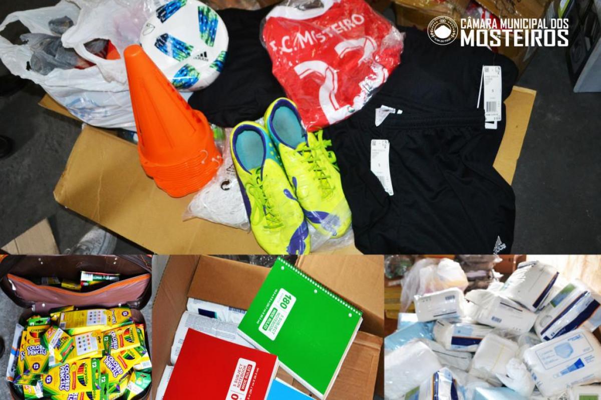 Diáspora: Grupo de emigrantes nos Estados Unidos envia donativos ao município