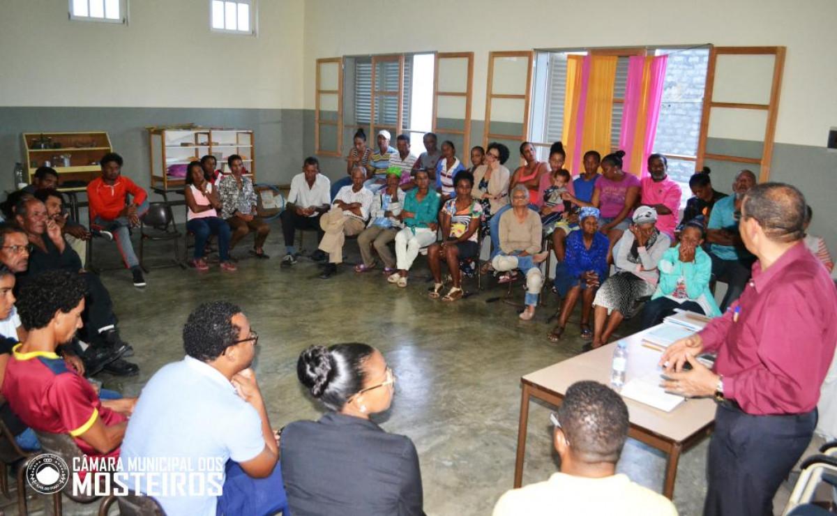 Presidência Aberta: Vereação ausculta população de Achada Grande sobre Plano de Atividades de 2019