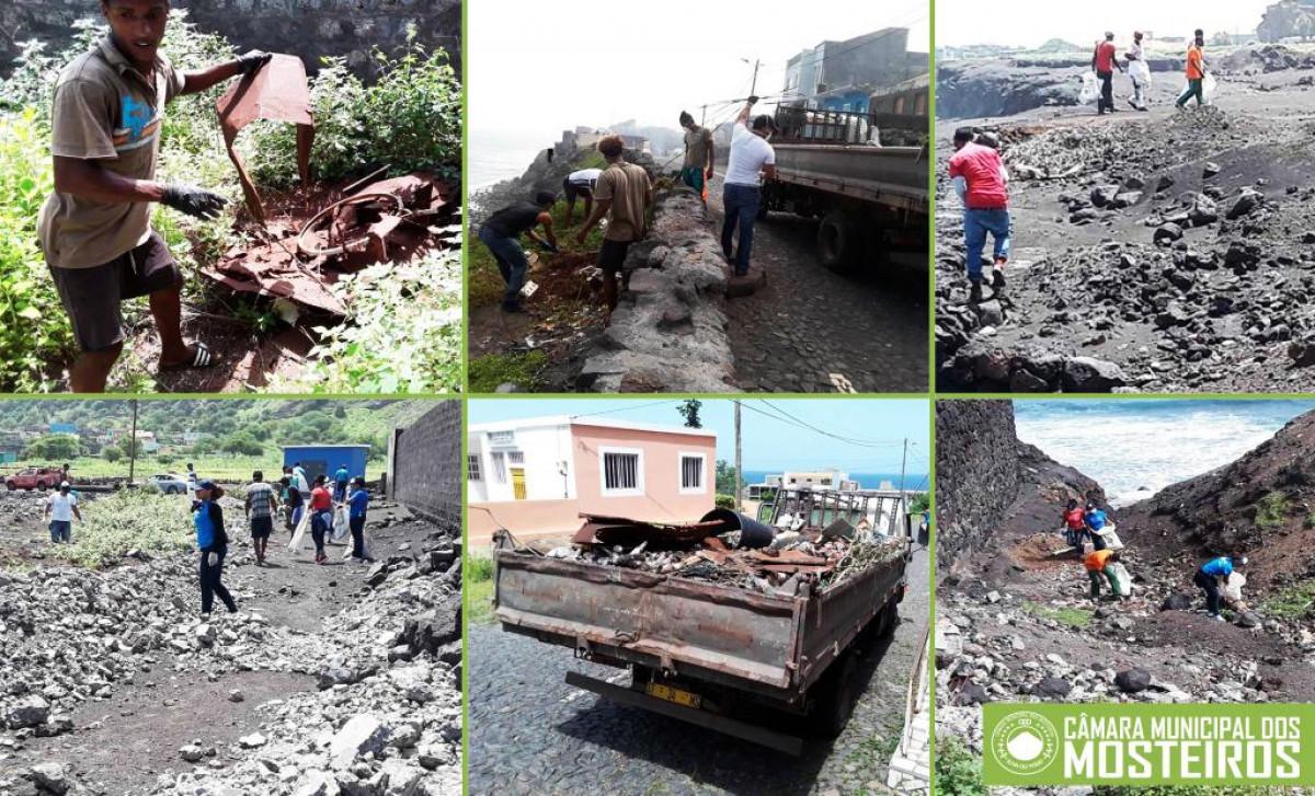 Saneamento: Associação de Murro realiza campanha de limpeza