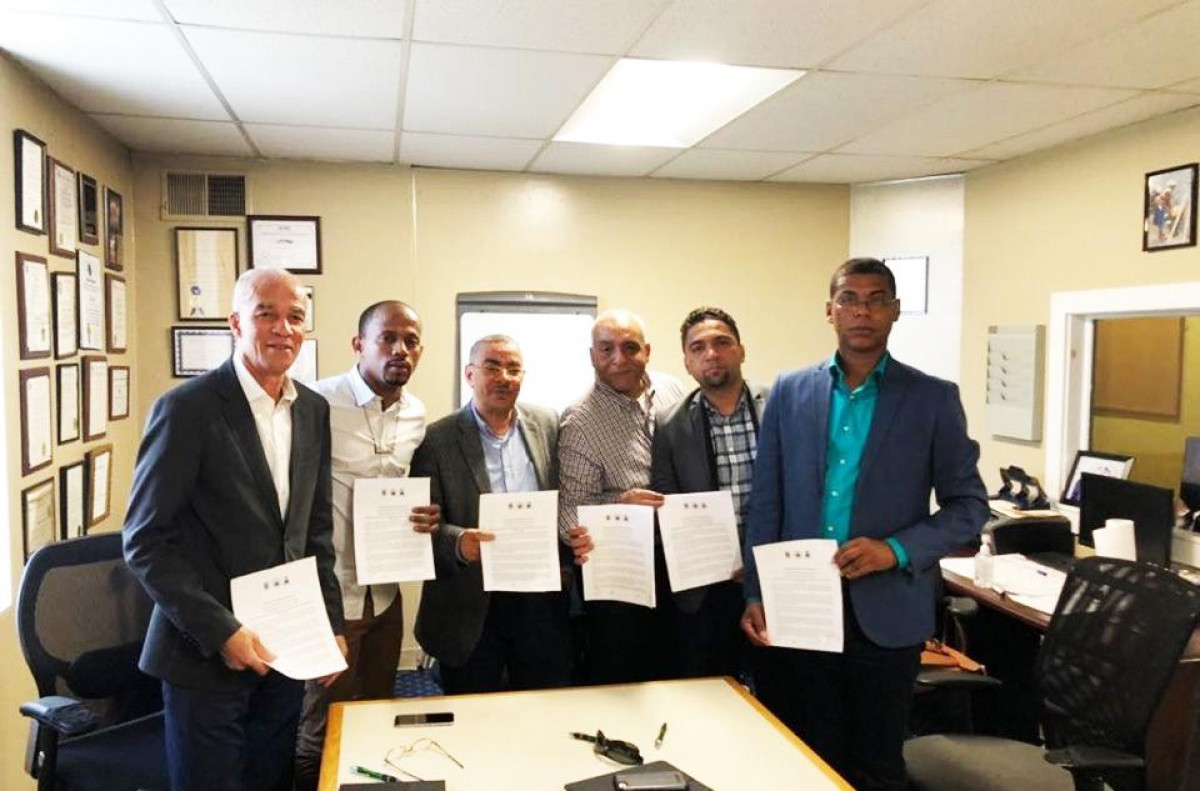 ODS e Agenda 2030: Câmaras do Fogo formalizam protocolos com associações desportivas de Brockton e Boston
