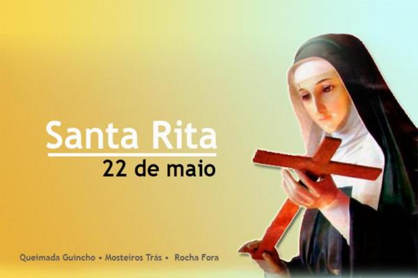Santa Rita: Mosteiros celebra a padroeira das Causas Impossíveis