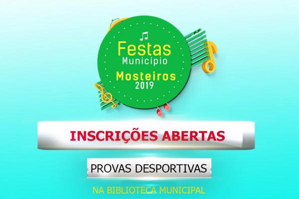 Festas do Município 2019: Inscrições abertas para provas desportivas