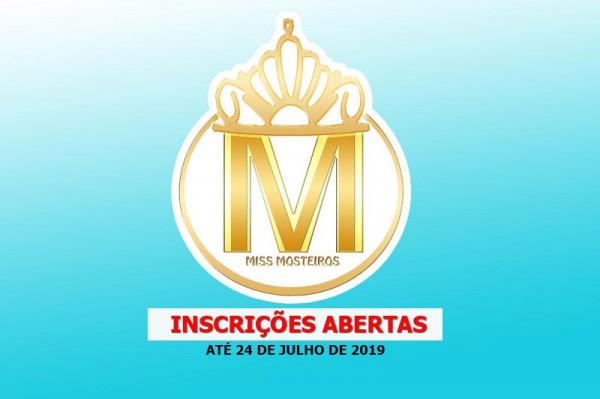 Miss Mosteiros 2019: Inscrições até 24 de Julho