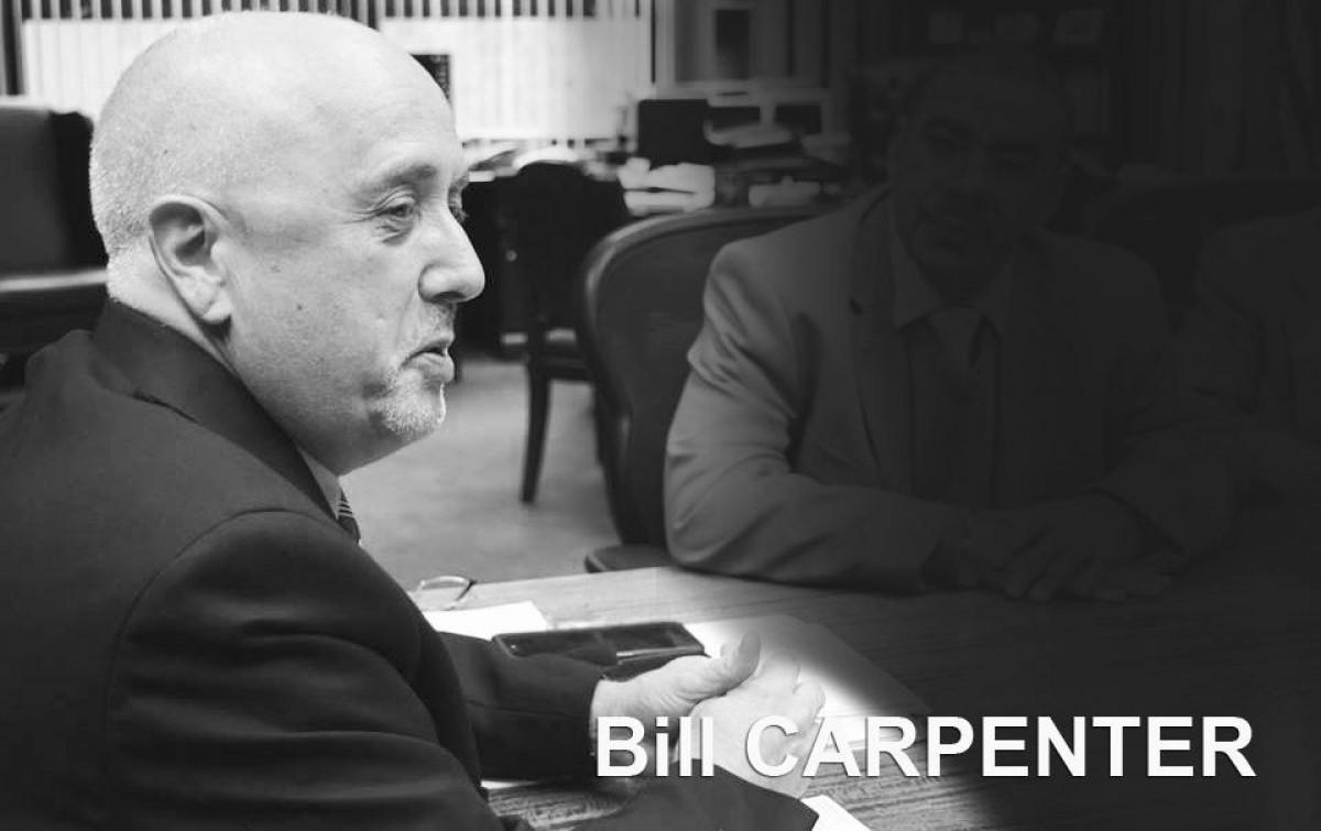 Nota de Pesar pelo falecimento do mayor de Brockton, Bill Carpenter