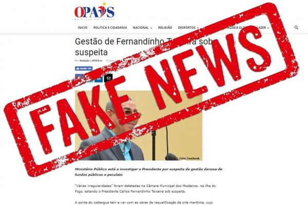 Nota: Presidência reage à notícia falsa de 'O País' sobre alegada gestão danosa