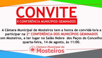 II Conferência Municípios Geminados com Mosteiros