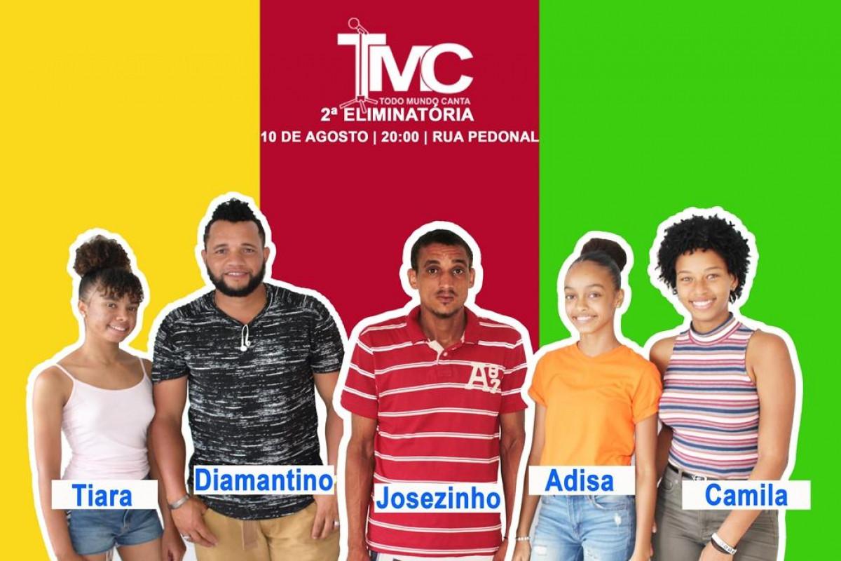 TMC: Cinco concorrentes cantam na Segunda Eliminatória