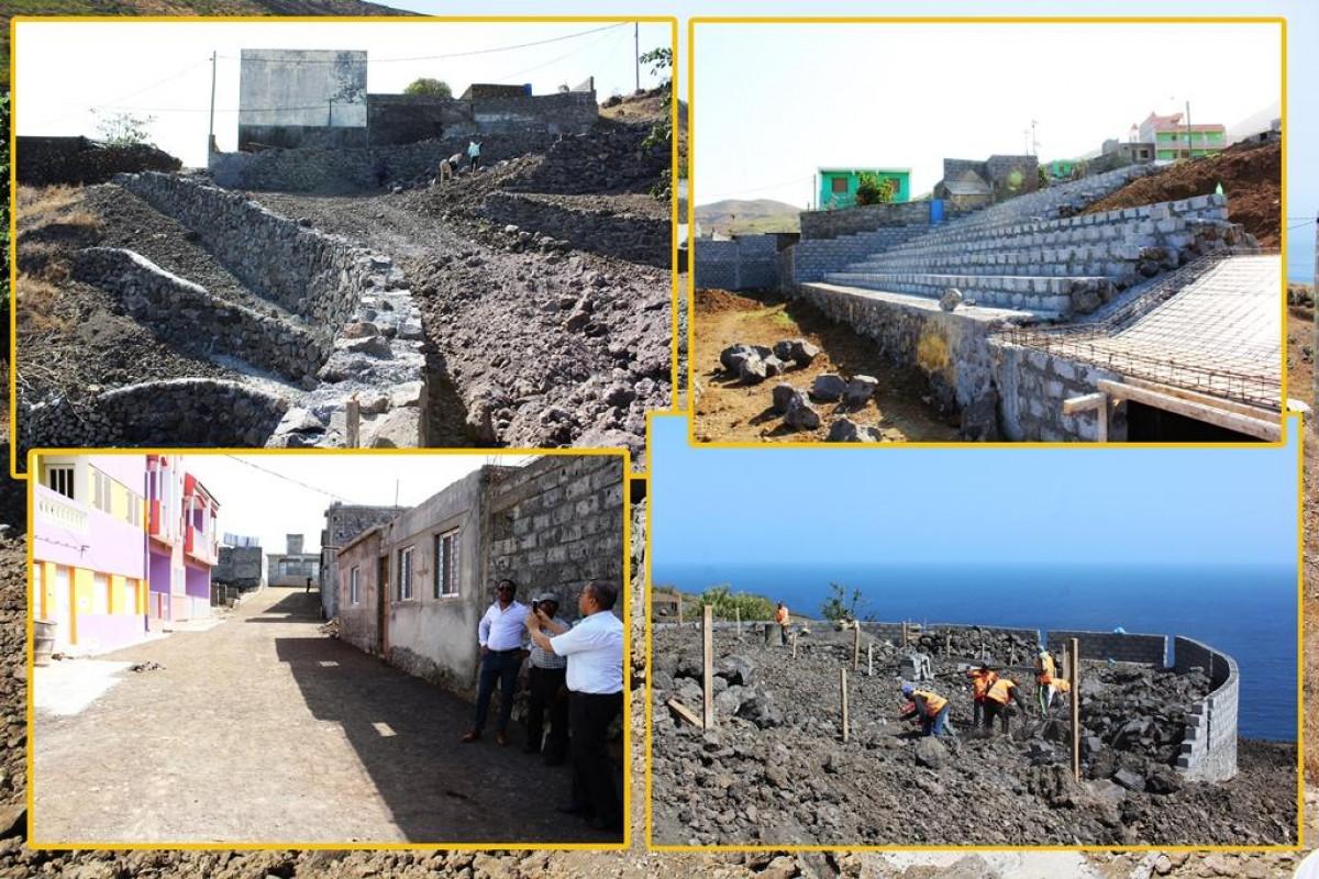 Infraestruturas: Vereação visita obras em curso