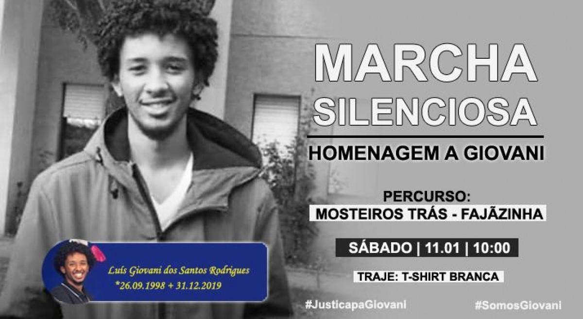 Pela Justiça: Mosteiros e Diáspora realizam Marcha Silenciosa em homenagem a Giovani este sábado