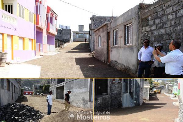 Urbanismo: Câmara Municipal requalifica ruas em Queimada Trás