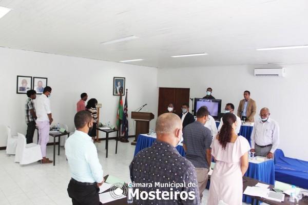 AMM: Eleitos municipais cumprem 1 minuto de silêncio em memória de José de Pala