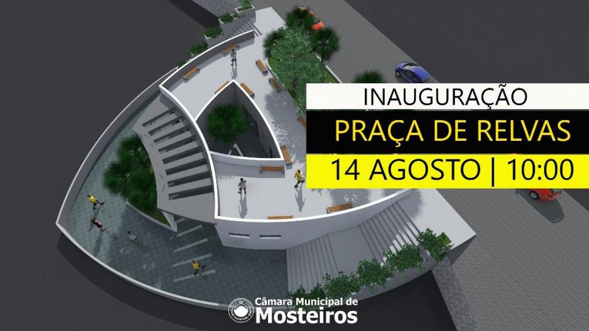 Infraestruturas: Câmara Municipal inaugura praça de Relvas esta sexta-feira