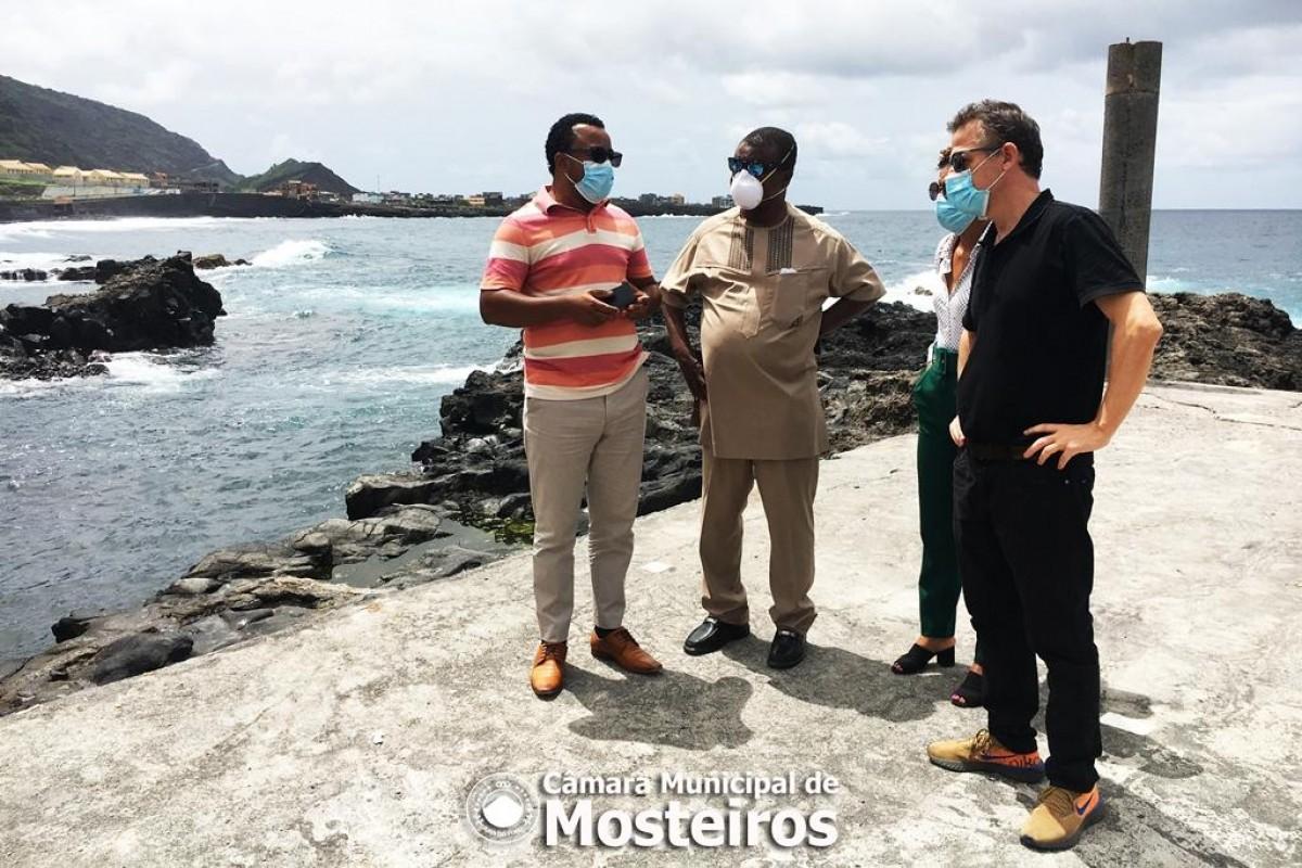 ODS 2030: Coordenador do escritório conjunto da ONU visita Mosteiros