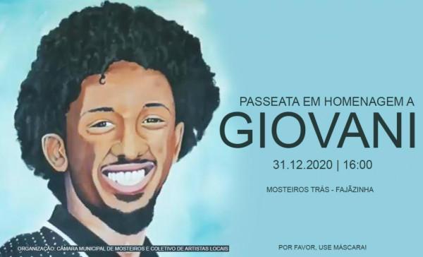 1º aniversário da morte de Luís Giovani Rodrigues: Artista homenageado em Passeata em Mosteiros
