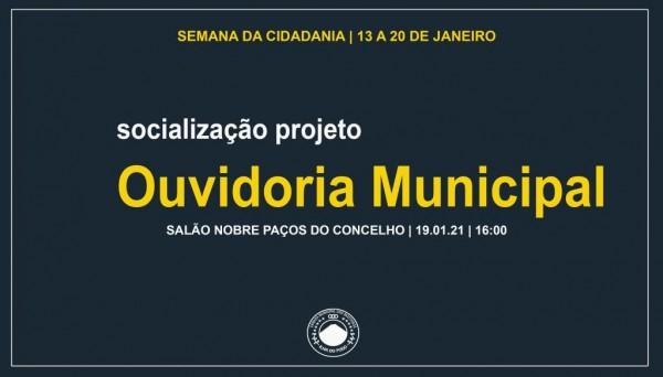 Semana da Cidadania: Câmara Municipal apresenta projeto de Ouvidoria Municipal a Dirigentes Associativos