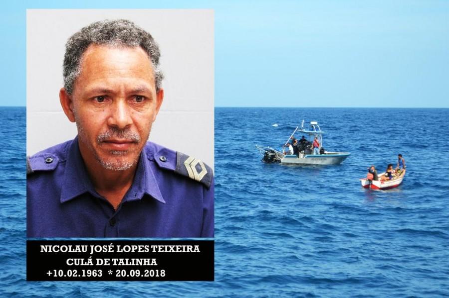 Luto: Culá de Talinha, agente da PN, encontrado morto no mar de Relvas