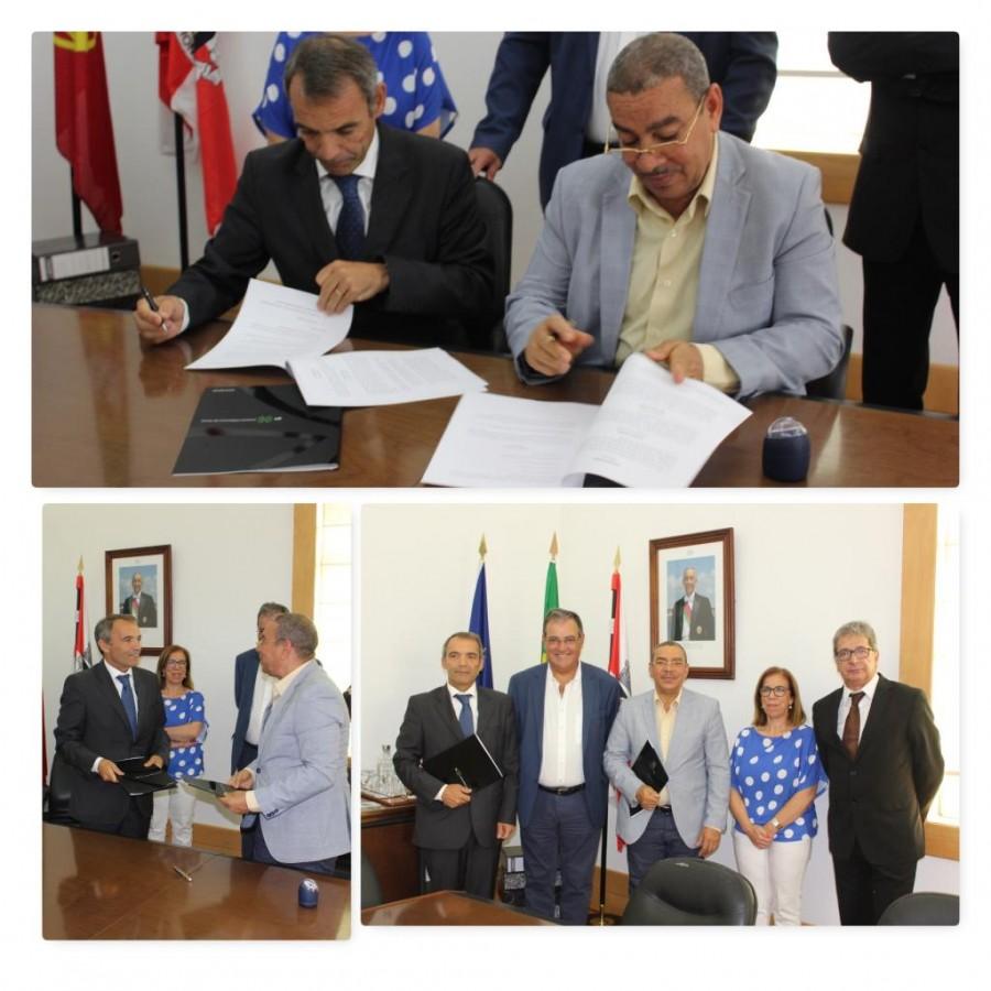 Formação: Câmara Municipal assina Protocolo de Cooperação com Instituto Politécnico de Tomar