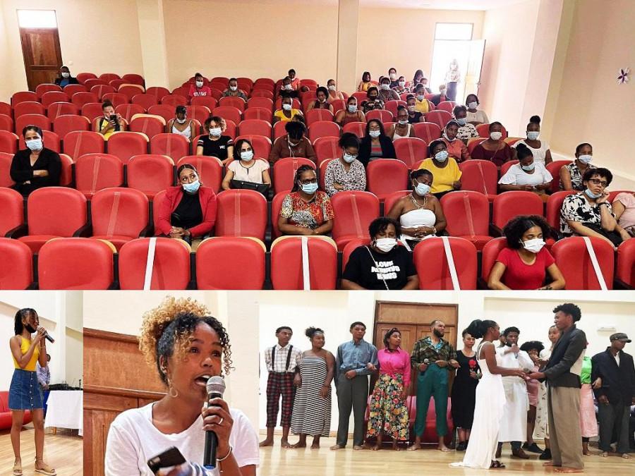 Efeméride: Música, Flores e Teatro no Dia da Mulher Cabo-verdiana