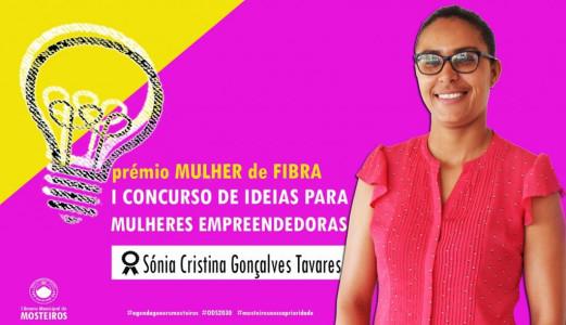 Concurso de Ideias para Empreendedoras: Sónia Tavares é a vencedora do prémio Mulher de Fibra