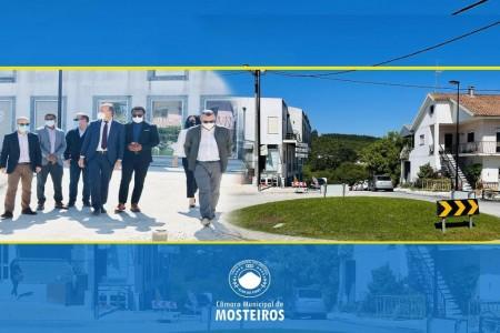 Cooperação: Câmara de Ansião (Portugal) atribui nome de Mosteiros a rua da vila