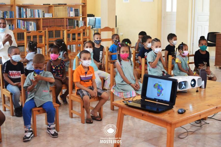 Semana d'África: American Corner acolhe programa para crianças do pré-escolar
