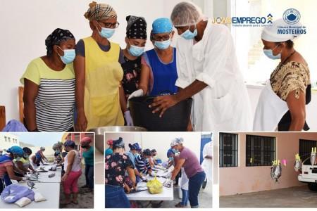 Jov@emprego: 15 mulheres de Mosteiros participam em formação sobre manuseio e conservação de pescado