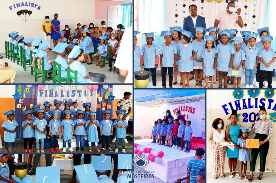 Pré-escolar: Cerca de 150 finalistas celebram imposição de fitas