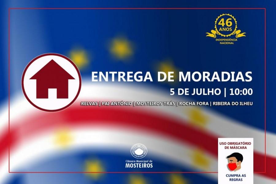 Social: Câmara Municipal comemora 5 de julho com entrega de casas em 5 localidades