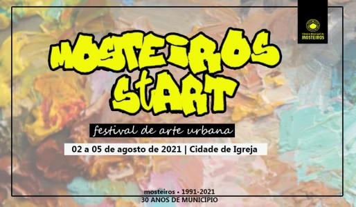 Mosteiros StArt: Câmara Municipal realiza primeira edição de festival de arte urbana